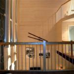 Från inre balkong